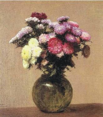 Анри Фантен-Латур. Маргаритки. 1872