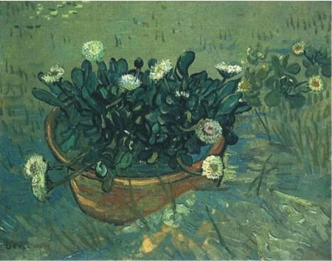 Ван Гог. Чаша с маргаритками. Арль, май 1888.