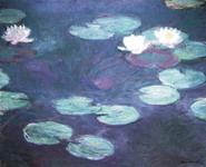 Клод Моне Три цветка лилии
