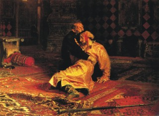 ИВАН ГРОЗНЫЙ И СЫН ЕГО ИВАН, Илья Репин